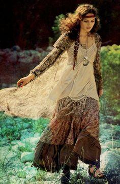gypsy look