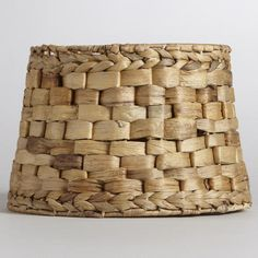 Natural Basket Accent Lamp Shade - to use with the hanging lamp???