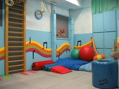 Sensory playroom