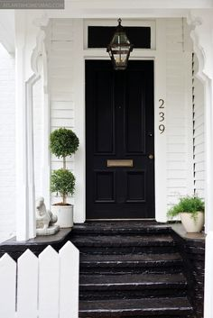 Front Door, Front Porch