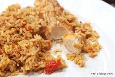 Easy Mexican Rice and Chicken - 101 Cooking For Two