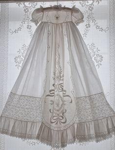 heirloom baptismal gown