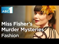 Go behind the scenes of the latest episode of Miss Fisher's Murder Mysteries, 'Murder à la Mode'. The episode was inspired by the beautiful costumes of the first series and the episode's scriptwriter, Kristen Dunphy's own passion for fashion. #MissFisher #PhryneFisher #EssieDavis #fashion #style #costumes #1920s #couture #behindthescenes