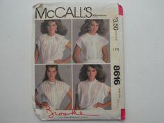 blouses, brook blous, brook shield, mccall, brooke shields