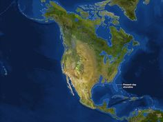 Maps of What the Earth Would Look Like If All Ice Melted - My Modern Metropolis