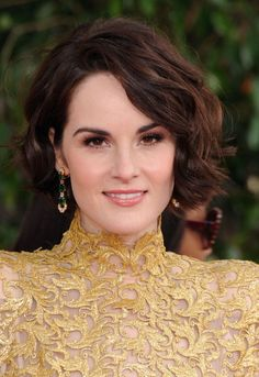 Bob hairstyles . . . the evolution of the modern Bob haircut never ceases to amaze me. Each new season we have a whole new generation of great looks to try, we've got bob for every face shape, length and hair type. Don't miss out!  Michelle Dockery wavy bob hairstyle 2013 Golden Globes