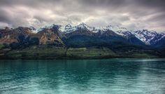 The deep icy Lake Wakatipu by @Trey Ratcliff of http://www.stuckincustoms.com/