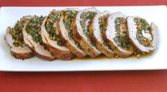 Spinach Stuffed Veal Roulade