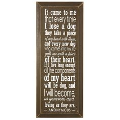 What a sweet dog quote