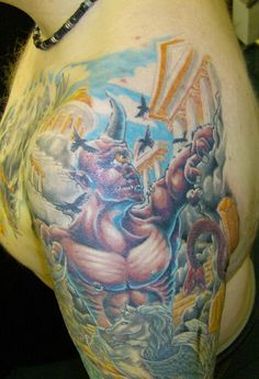 Mythical Creatures Tattoos Designs Ideas 25