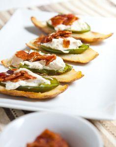 Recipe: Jalapeño Popper Potato Skins