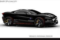 brutal car, ride, car truck, auto bmw, speed, x9 concept, concept cars, bmw x9