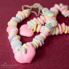 homemade candy necklace