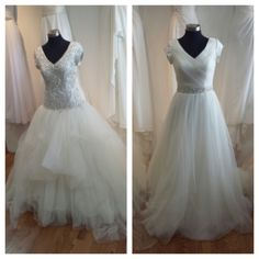 Fiore couture on pinterest couture wedding dresses for Temple ready wedding dresses