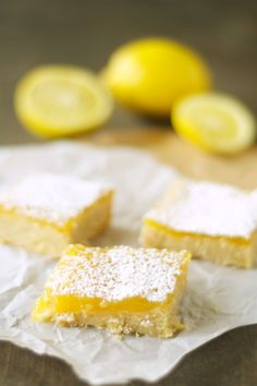 Crockpot lemon cookie bars.