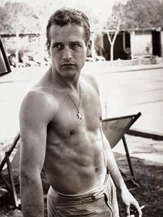 Paul Newman - one of the most handsome men ever.