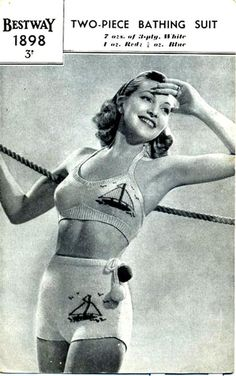 Swimwear fashions through the ages