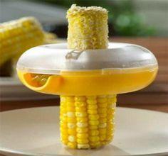Lots of weird / cool kitchen gadgets, such as the Corn Kerneler