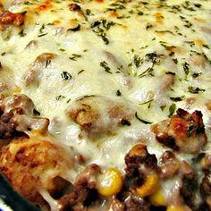 Cowboy lasagna