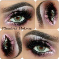 day makeup, eye makeup, valentine day, purple, blue eye, pink, beauti, green eyes, blues