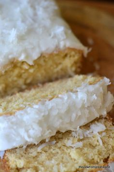 Triple Coconut Pound Cake - The View from Great Island