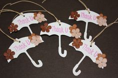 These umbrella tags are absolutely perfect to use for a bridal and or baby shower favor tag!  They are just adorable!