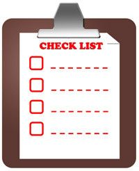 Checklists For Photographer's  (Don't forget to pack extra apostrophes--you never know when you'll need them!)