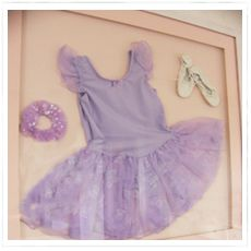 ideas for dance rooms | Use what you have for your dance room . Here a tutu and hair scrunchie ...