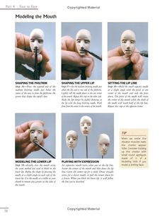 Sculpting Polymer Clay Figures | Lifelike Figures in Polymer Clay: Tools and Techniques for Sculpting ...