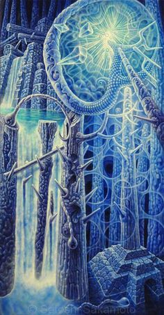 Satoshi Sakamoto - Codama #ravenectar #visionaryart #art #beautiful #visual #trippy #psychedelic #sacred
