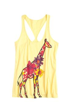 fashion, cloth, style, giraff tank, giraff sooo, giraff spotprint, polyvore, shirt, giraffes