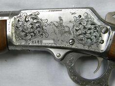 beautiful gun engraving