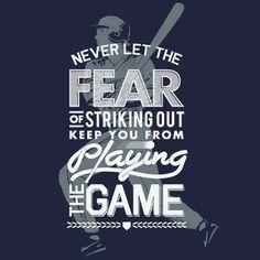 Babe Ruth couldn't had said it any better! It takes heart to play when you strike out! baseball pictures, the game, life motto, balls, baseball quotes, softball quotes, determination, sport, a cinderella story