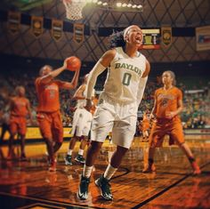 Love this shot of Odyssey! // #Baylor Lady Bear Odyssey Sims, 2014 National Player of the Year candidate