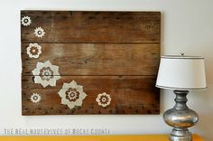 barn wood art