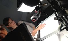 Filming a DVD for our new Marble Nail Polish: London Collection!