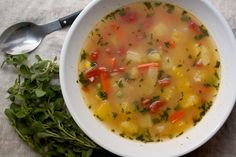 Really Good Vegetable Soup | Big Girls Small Kitchen