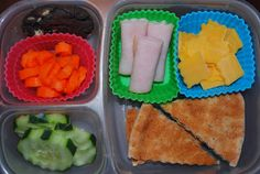 Packing lunch... some great ideas on this site.