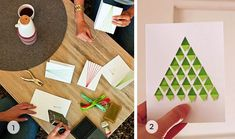 11 DIY and Handmade Christmas Card Ideas