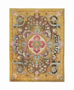 "Christie's auction link - ""An important Louis XV Savonnerie carpet"", circa 1740-1760."