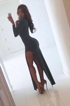 Claudia Sampedro - www.FWAT.net hot chick, fashion, sexi, claudia sampedro, heel, the dress, beauti, legs, stunning dresses