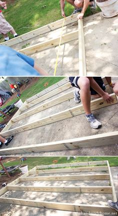 Treehouse deck DIY