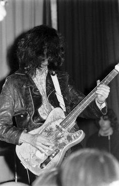 Jimmy Page performing at Gladsaxe Teen Club, Denmark - March 15, 1969
