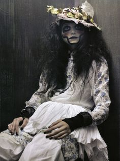 ? costumes, vogu italia, model, editorial, craig mcdean, vogue italia, makeup, jourdan dunn, style fashion