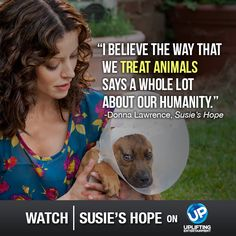 From pit bull victim to pit bull savior! #SusiesHope is the remarkable true story of one woman's unforgettable change of heart. Premieres Sunday (8/3) at 8pm ET on UP!