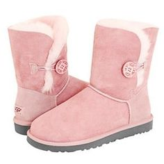 UGG Baily Button Women Boots Pink 5803