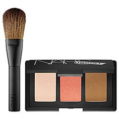 Calling all NARSissists. This palette has it all: a highlighting blush, a peachy pink #blush, and #bronzer. Love my luminous cheeks. #Sephora #Nars