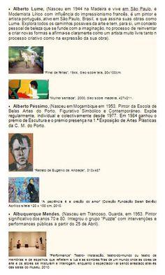 Lista de A a Z de Pintores Portugueses e suas obras