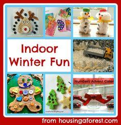 Indoor winter fun - Ideas for kids