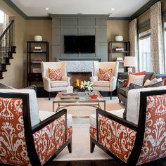 Southwest Livingroom Design